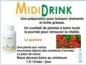 boisson drainante - phytothérapie